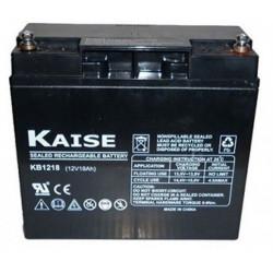 Batería plomo AGM 12V 18Ah Kaise. Mod. KB12180M5