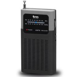 Radio analógica bolsillo AM/FM. Mod. TMRAD200