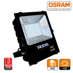 Proyector Led SMD3030 IP65 Negro 100W Chip OSRAM. Mod. 7276