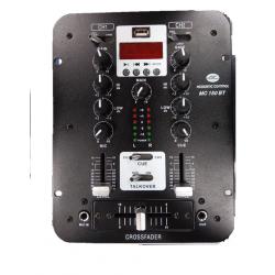 Mesa de mezclas 2 canales USB y Bluetooth Acoustic Control. Mod. MC 150 BT