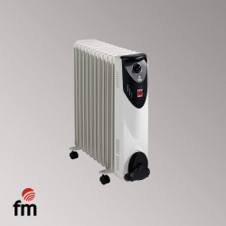 Radiador eléctrico 2500W FM. Mod. RW-25