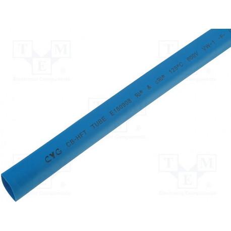 Tubo termorretractil 50.8 mm azul 1 metro. Mod. XBPT-50.8AZ