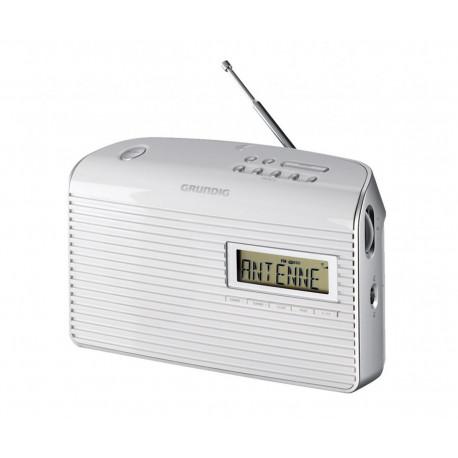 Radio sobremesa AM/FM red y pilas blanco Grundig. Mod. MUSICBOY61WH