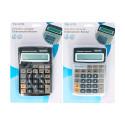 Calculadora electrónica 8 dígitos negra o plata. Mod. 90111