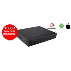 Video grabador 8 canales híbrido Full HD. Mod. SE-GRAB802HD
