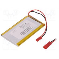Batería Li-Po 3,7V 4000mAh 8,5x50,5x80,5mm. Mod. LP805080