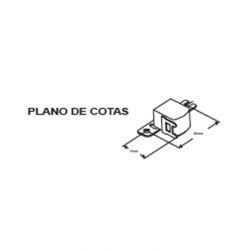 Cabezal Cassette Estéreo Auto-reverse IKELCO. Mod. RP-5244C