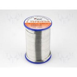 Bobina estaño Sn60Pb40 2mm 0,5kg 190°C 2,5%. Mod. LC60-2.00/0.5