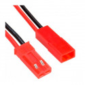 Pareja Conector BEC M-H con cable. Mod. 51044