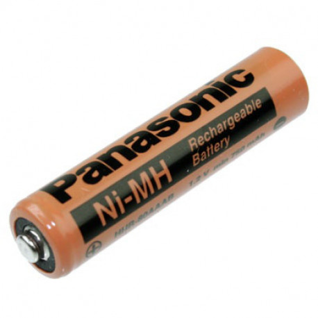 Batería recargable AAA NI-MH 1.2V 7500 mAh Panasonic. Mod. HHR-80AAAB