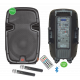 "Altavoz Autónomo 12"" de batería  USB/SD/Radio/Bluetooth Cloud Night. Mod. C-BOX-122BAT"