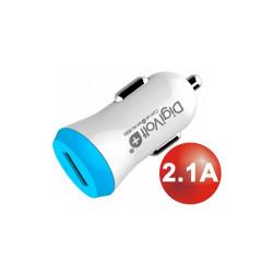 Cargador coche Micro Usb 2.1A Digivolt. Mod. QC-2424