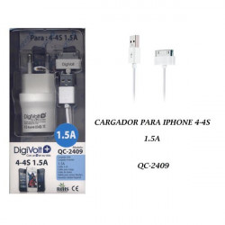 Digivolt Cargador Iphone 3/4 1500ma QC-2409