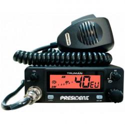 EMISORA CB 27 Mhz. AM / FM 40 CANALES PRESIDENT. MOD. TRUMAN ASC
