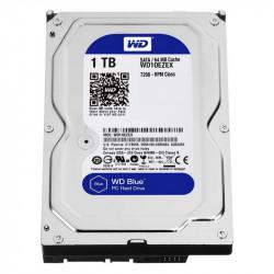 """Disco duro interno WD Blue 1TB 3.5"""" SATA3. Mod. WD10EZEX"""