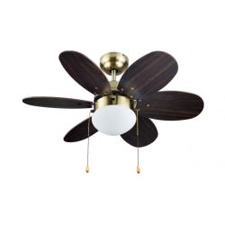 Ventilador de Techo c/luz 75 cm 60W Bastilipo. Mod. Portil