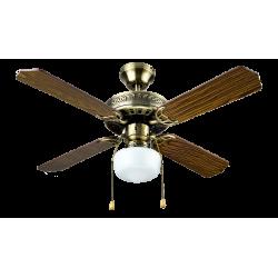 Ventilador de Techo c/luz 105 cm 60W Bastilipo. Mod. Cadiz