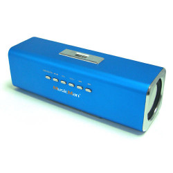 Altavoz bluetooth MP3/USB azul Technaxx. Mod. MUSICMANA