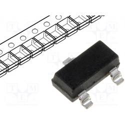 Diodo conmutador SMD 75V 4ns SOT23. Mod. BAV99-7-F