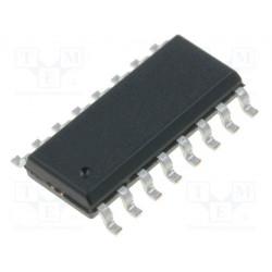 Circuito integrado digital multiplexer SMD SO16. Mod. CD4051BM