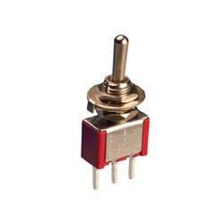 Interruptor unipolar tres posiciones (0 centro). 3A./250V. C/IMP. Mod. 0993-A