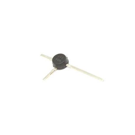 Transistor de silicio NPN para RF. Mod. BFR91A