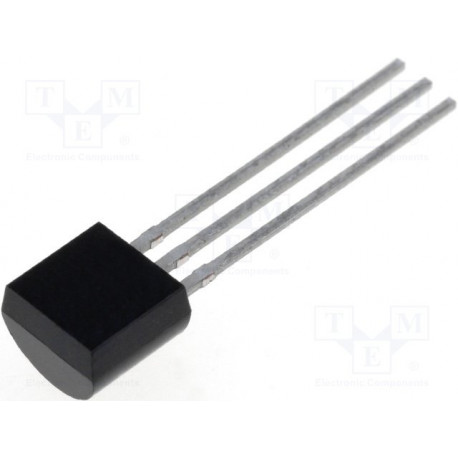 Transistor NPN bipolar 45V 1A 1W TO92. Mod. ZTX450