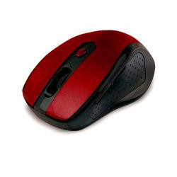 Ratón mouse óptico inalámbrico rojo Phoenix. Mod. PHR516+