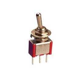 Interruptor unipolar tres posiciones (0 centro). 3A./250V. C/IMP. Mod. 0993