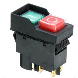Pulsador marcha paro hormigonera 230V IP54. Mod. KLD-28A