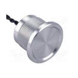 Pulsador piezoeléctrico gris 4 hilos IP68 5V