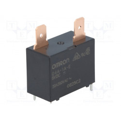 Relé electromagnético SPST-NO 5VCC 900mW. Mod. G4A-1A-E 5VDC