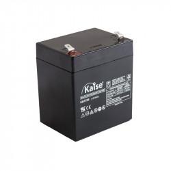 Batería plomo AGM 6V 12Ah F1Kaise. Mod. KB6120