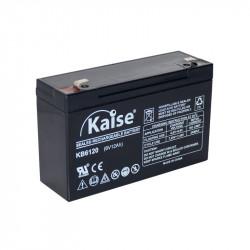 Batería plomo AGM 6V 12Ah F1 Kaise. Mod. KB6120