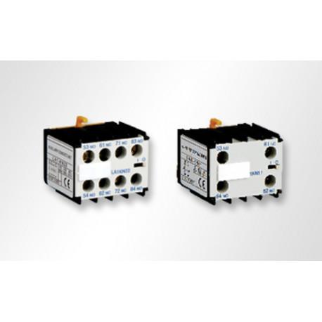 Contactos auxiliares minicontactores 2NO+2NC 3SC8 SASSIN. Mod. C8KA1/N22