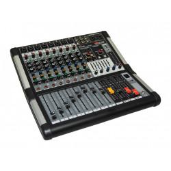 Mezclador de 8 canales mic/line. Grabador/reproductor USB. Bluetooth. DSP 99 efectos. Mod. MM899USBBT