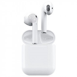 Auriculares bluetooth 5.0 blanco in ear. Mod. I12 TWS