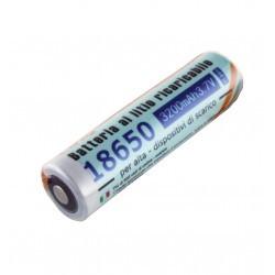 Batería recargable 3.7V 3200mAh 18650 LinQ. Mod. BAT-3200PT