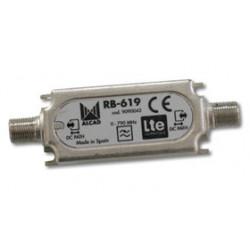 FILTRO RECHAZO LTE C60 TETRA Y GSM 60 dB ALCAD. Mod. RB-619