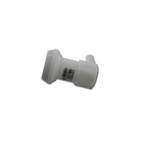 LNB INDIVIDUAL UNIVERSAL 0,2 dB MIN ALCAD. Mod. UE-004