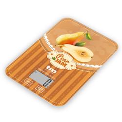 Báscula de cocina pera 5kg. Mod. TMPBS028