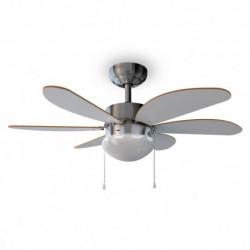 Ventilador de techo con luz 50w Cecotec. Mod. Force Silence Aero 350