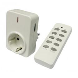 Conjunto mando a distáncia ON+OFF más receptor. Mod. 60.531/N