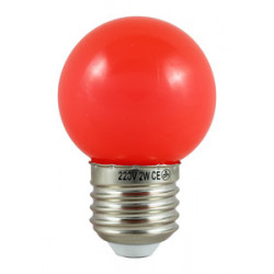Bombilla LED de color ROJO. Mod. 81.140/1/R