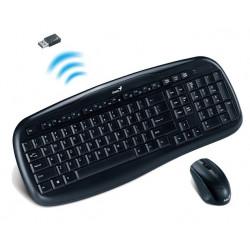 Combo teclado y ratón inalámbrico Genius. Mod. KB-8000X