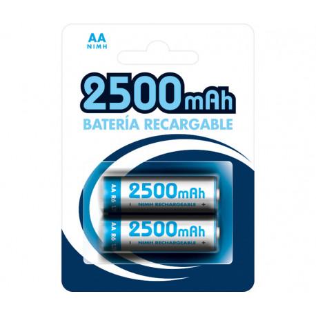 Batería recargable 1.2V 2500 mAh AA/LR6 NI-MH. Mod. BAT273