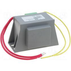 Transformador de red 12VA 230VCA a 12V 1A. Mod. TSZZBD12/001M
