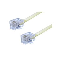 Conexión telefónica 6P4C macho-macho de 2.2 metros. Mod. 1284/2.2