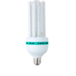 LAMPARA LED 4U 24W E27 2040LM 360º 6000K. MOD. 4U24CW