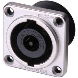Conector speakon chasis Neutrik 8 polos. Mod. NL8MPR